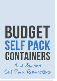 Mover Budget Self Pack Containers in Auckland Auckland